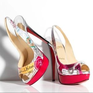 Christian Louboutin Limited Edition LadyHolt Trash